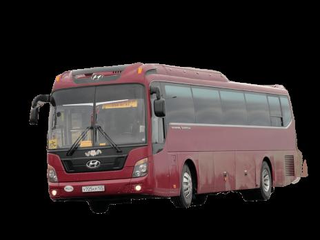 Стекло лобовое (два раздельных) для Hyundai Univers Express Noble