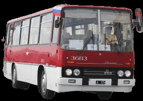 Стекло лобовое (два раздельных) для Ikarus 255