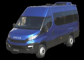 Стекло лобовое панорамное для Iveco Daily