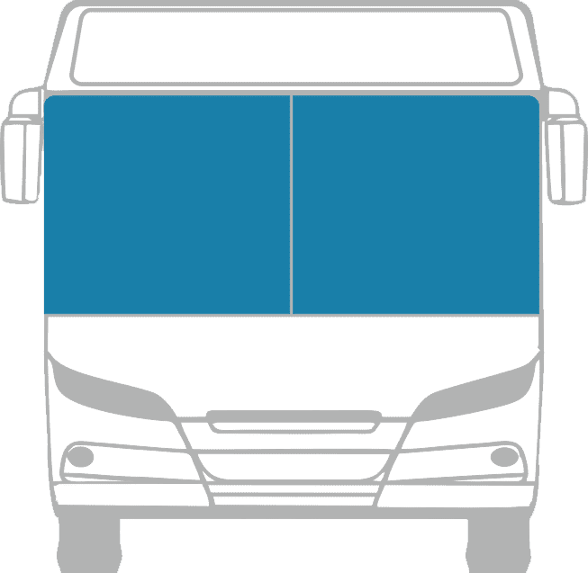 Стекло лобовое (два раздельных) для Mercedes - Benz - NAW (CO.BOLT.NAW)