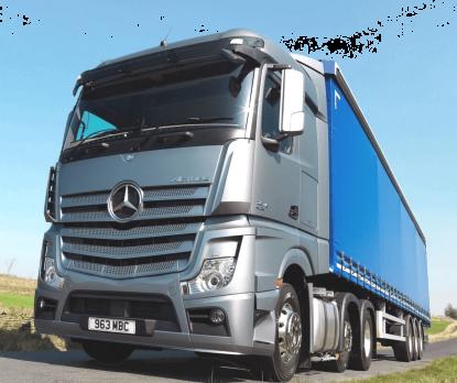 Стекло лобовое панорамное для Mercedes - Benz Actros