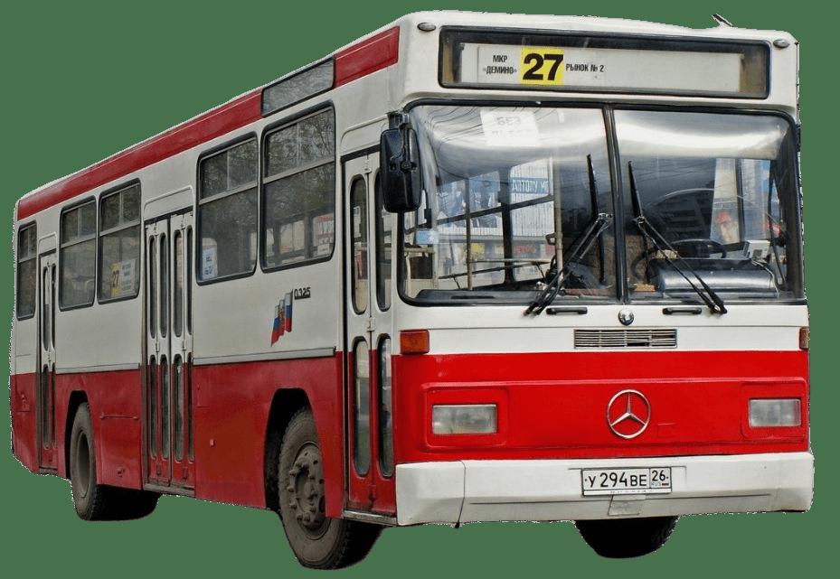 Стекло лобовое (два раздельных) для Mercedes - Benz O325 Turk