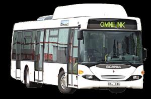 Стекло лобовое панорамное для Scania Omnilink