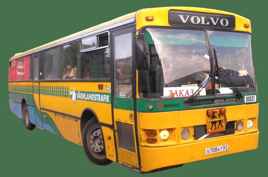 Стекло лобовое (два раздельных) для Volvo Alpus