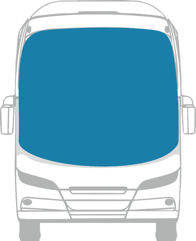 Стекло лобовое панорамное для Волжанин 32901