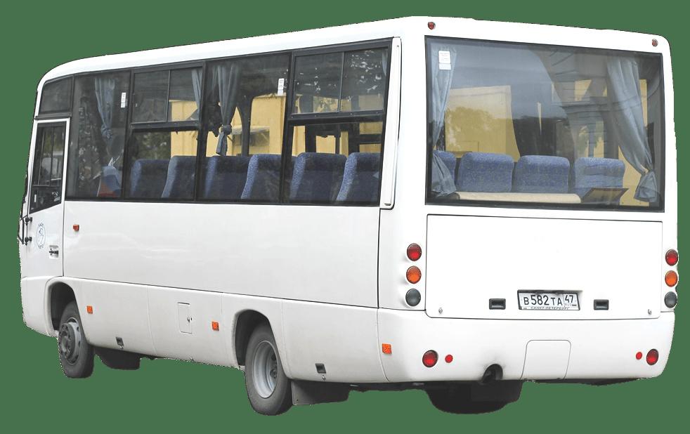 Стекло заднее панорамное для МАЗ - 256