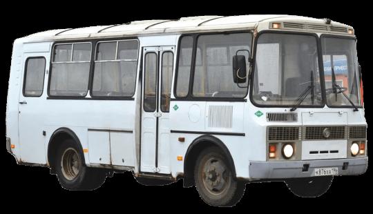 Стекло лобовое (два раздельных) для ПАЗ - 3205